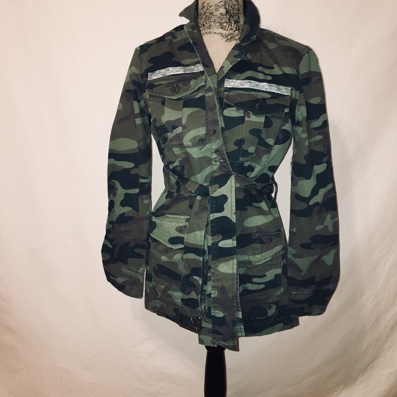 203796518ede9 GAP Jackets & Coats | Camo Jacket Nwt Xs | Poshmark